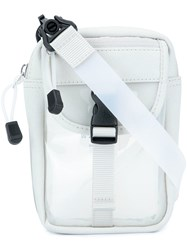 Nana Nana Zipped Messenger Bag White