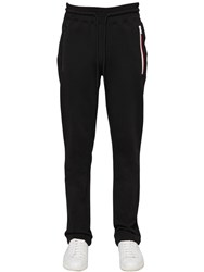 Moncler Cotton Blend Track Pants Black