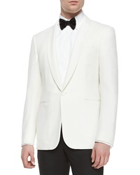 Ralph Lauren Black Label Anthony Shawl Collar Dinner Jacket Cream