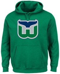 Majestic Men's Hartford Whalers Vintage Lightweight Patch Hoodie