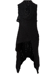 Barbara I Gongini Knit Vest Black