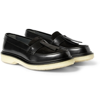 Adieu Type 32 Crepe Sole Leather Loafers