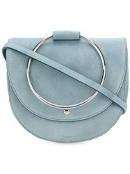 Theory Hobo Shoulder Bag Blue