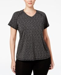 Ideology Plus Size Space Dyed Top Only At Macy's Noir Space
