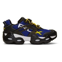 Polo Ralph Lauren Black And Blue Rlx Tech Sneakers