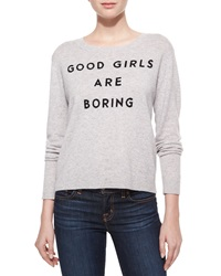 Milly Good Girls Cashmere Sweater