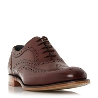 Barker Jensen 2 Tone Brogue Shoes Brown