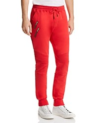 Nana Judy Bleeker Biker Jogger Pants Red