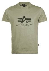Alpha Industries Basic Print Tshirt Olive