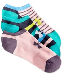 Under Armour Women's Athletic Solo Socks 3 Pack Absinthe Green Asst