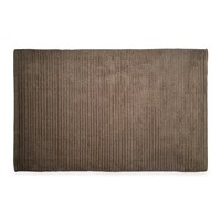 Dkny Mercer Plain Dye Bath Mat Grey Stone