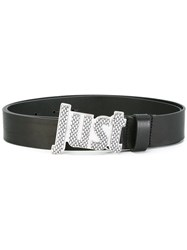 Just Cavalli Buckle Belt Black