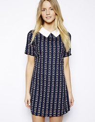 Max C London Max C Shift Dress With Collar