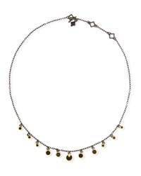 Armenta Old World Multi Disc Shaker Necklace Gold