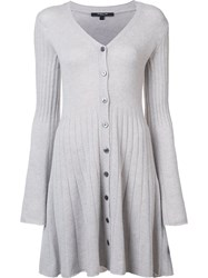 Derek Lam Sweater Dress Grey