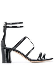 Casadei Block Heel Sandals Black