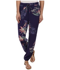 Roxy Sunday Noon Pant Astral Aura Heritage Women's Casual Pants Blue