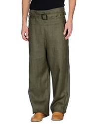 Dandg D And G Casual Pants Military Green