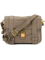 Proenza Schouler Tiny 'Ps1' Satchel Grey