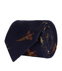 Polo Ralph Lauren Game Bird Tie Navy