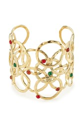 Gas Bijoux Olympie 24K Gold Plated Cuff