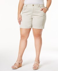 Style And Co Plus Size Shorts Only At Macy's Stonewall