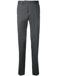 Dell'oglio Mid Rise Tailored Trousers Grey
