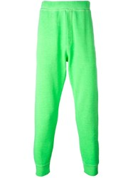 Dsquared2 Fluo Track Trousers Green