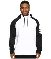 Nike Therma Training Hoodie White Black White Men's Sweatshirt