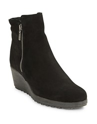 The Flexx Pic A Winner Suede Ankle Boots Black