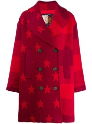 Tommy Hilfiger Stars And Stripes Coat Red