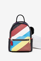 Nasty Gal Stripe Right Mini Backpack