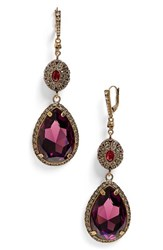 Alexander Mcqueen Women's Double Drop Earrings