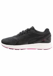 Puma Ignite V2 Neutral Running Shoes Black White Pink Glow