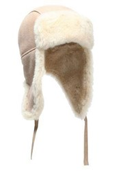 Australia Luxe Collective Shearling Hat Sand