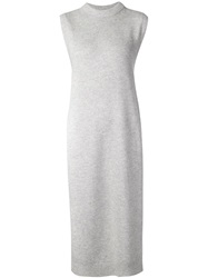 T By Alexander Wang Knitted Maxi Tunic Grey