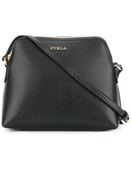 Furla Inside Pouch Crossbody Bag Black