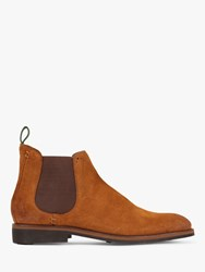 Oliver Sweeney Burrows Suede Chelsea Boots Whiskey