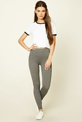 Forever 21 Heathered Knit Leggings