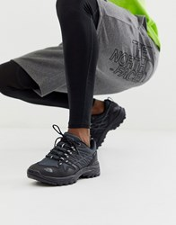 The North Face Hedgehog Gore Tex Trainer In Black