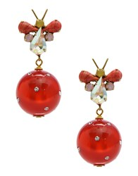 Katerina Psoma Earrings Red