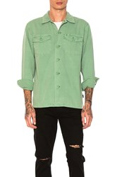 Stussy Bdu Button Down Green