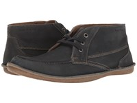 Hush Puppies Alby Roll Flex Navy Nubuck Men's Lace Up Casual Shoes Blue