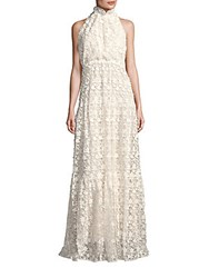 Erin By Erin Fetherston Summerfield Empire Waist Lace Gown Ivory
