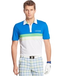 Izod Pieced Preppy Performance Golf Polo
