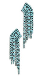 Elizabeth Cole Barrett Earrings Turquoise