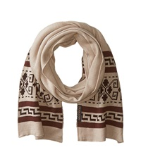 Pendleton Knit Muffler Westerly Scarves Gray