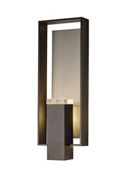 Hubbardton Forge Shadow Box Large Outdoor Sconce