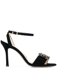 Marc Ellis Slingback Sandals Black