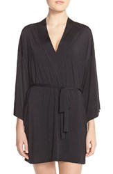 Women's Josie Happi Coat Robe Black